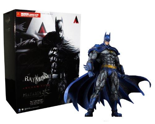 Square Enix Batman Arkham City Play Arts Kai Actionfigur Batman 1970s Batsuit Skin 24 cm