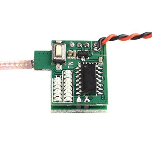 Hunpta 5g FPV 48CH 5,8 G 25 MW 600TVL Kamera eingebauten Sender und Antenne für OCDAY (A) - 9