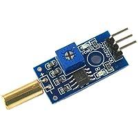Módulo de inclinación Módulo de sensor de ángulo Interruptor de bola Módulo de sensor de inclinación Sensor de inclinación - Azul