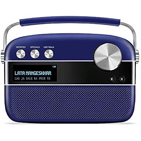Saregama Carvaan Premium- Portable Music Player with 5000 Preloaded Songs, FM/BT/AUX (Royal Blue)