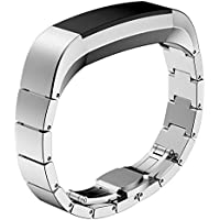 Fitbit Alta Band, Degbit Fitbit alta wristband Metal band, Adjustable stainless steel fitbit alta watch band strap, Classic replacement accessories for fitbit alta strap bracelet bands