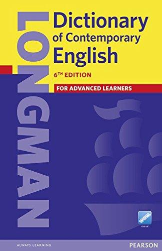 Longman Dictionary of Contemporary English 6 Paper and online por Longman