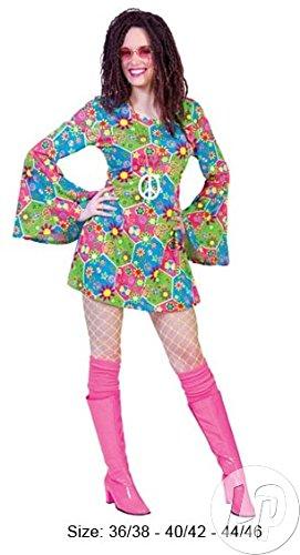 Dakota Freedom Hippie Kostüm-Damen 44/46 (Dakota Kostüme)