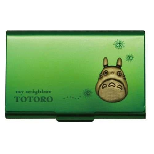 studio-ghbli-mi-vecino-totoro-metal-tarjeta-caso-verde-de-japon