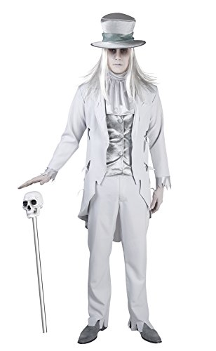 Unbekannt Seiler24 Hochwertiges Geister Bräutigam Kostüm für Herren Größe - Ghost Bräutigam Für Erwachsene Herren Kostüm