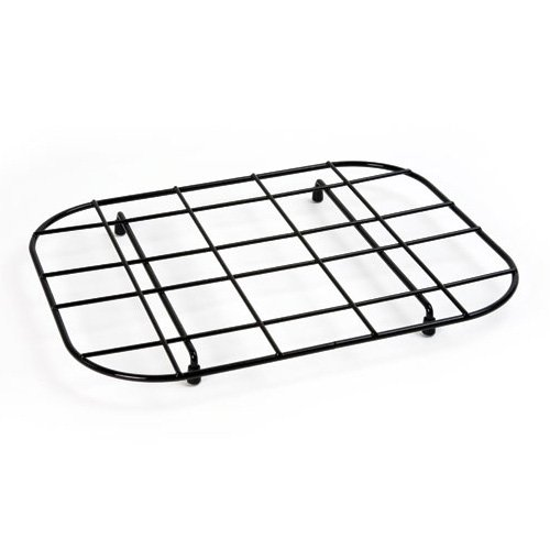 Black Plastic Coated Standard Sink Mat by Delfinware