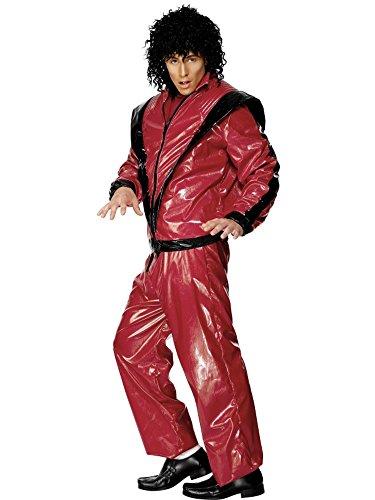 Kostüm Karneval Herren Michael Jackson Thriller Triller * 08463, Mehrfarbig Einheitsgröße