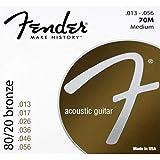 Fender 70M 80/20 Bronze Acoustic Guitar Strings