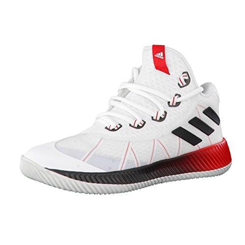 adidas Unisex-Kinder Energy Bounce Bb J Turnschuhe Elfenbein (Ftwbla/negbas/gritra)