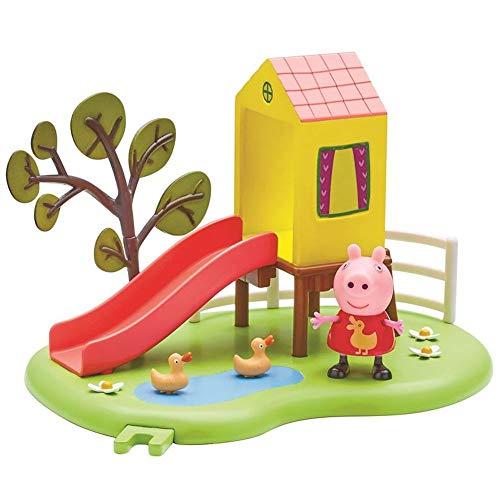 Character World Outdoor Tobogán | Conjunto Juguetes | Peppa Pig | con Figura Peppa