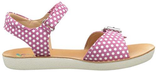 Shoo Pom Goa Sandal Girl, Sandales fille Rose (Fuschia)