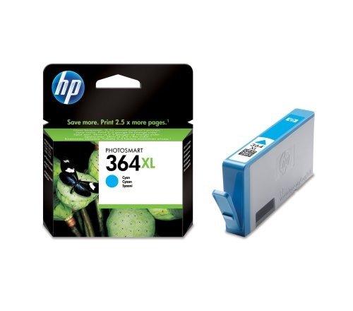 HP - Hewlett Packard PhotoSmart 5514 e-All-in-One (364XL / CB 323 EE#301) - original - Tintenpatrone cyan - 750 Seiten - 7ml (Hp Photosmart 5514 Druckkopf)