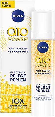 Nivea Q10 Power Anti-Falten + Straffung Glättende Pflegeperlen für jünger aussehende Haut,...