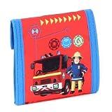 Feuerwehrman Sam Geldbörse mit Klettverschluss
