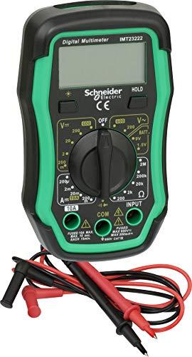 Schneider Electric sc5imt23222multímetro digital cat III 600V, Verde