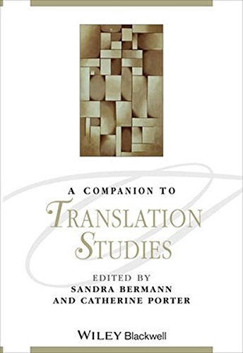 A Companion to Translation Studies (Blackwell Companions to Literature and Culture)