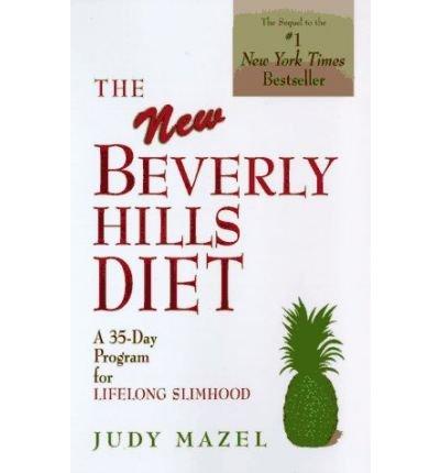 Mazel, Judy [ The New Beverly Hills Diet ] [ THE NEW BEVERLY HILLS DIET ] Oct - 1996 { Paperback }