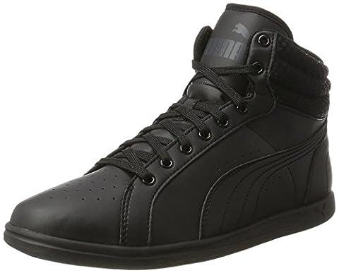 Puma Damen Ikaz Mid v2 Hohe Sneaker, Schwarz (Black-Black), 38.5 EU