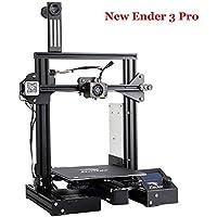 Creality 3D Nueva Ender 3 PRO impresora 3D con superficie de construcción magnética y fuente de alimentación MeanWell