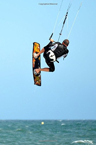 Kite Surfing Water Sports Journal: 150 Page Lined Notebook/Diary