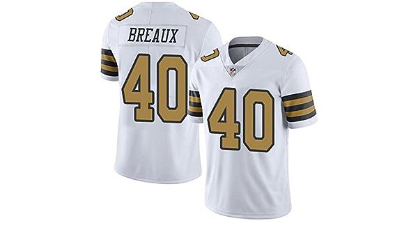 New Orleans Saints #40 Delvin Breaux Football Jersey Men's Limited ...