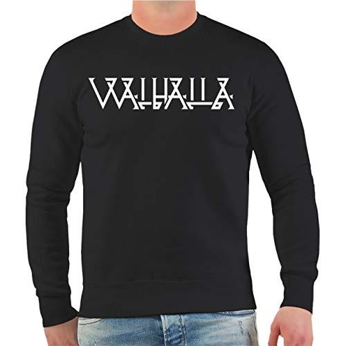 Spaß kostet Männer und Herren Pullover Kelten Runen (mit Rückendruck) Größe S - 10XL
