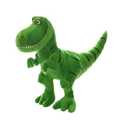 Simulacion Dinosaurios Tiranosaurio Peluche Para Niño Juguete Stuffed Animal Toys Bed Time Linda Figura de Felpa Suave Verde