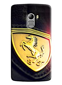 Blue Throat Horse Symbol Printed Designer Back Cover/Case For Lenovo K4 Note
