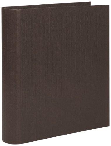 Rössler Papier 1316452875, S.O.H.O. Ringbuch 5 cm breit,  4 -Ring Mechanik, Unifarben espresso