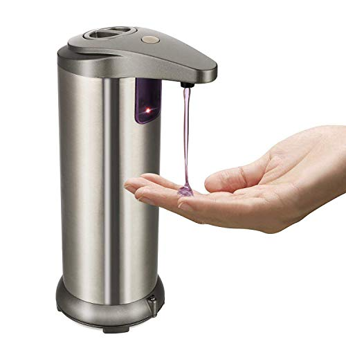 Supmaker Automatic Soap Dispenser Sensor Soap Dispensers for Kitchen and Bathroom