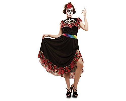 Disfrazzes Mein Anderes Ich Tag der Toten Kostüm für Erwachsene, Größe M-L (Viving Kostüme MOM02275)