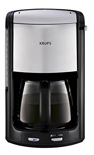 Krups FMD344 Pro Aroma Plus Kaffeeautomat chrom, schwarz