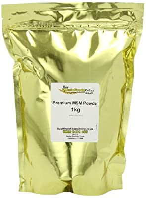 Buy Whole Foods Online Premium MSM Powder 1 Kg from Buy Whole Foods Online Ltd.