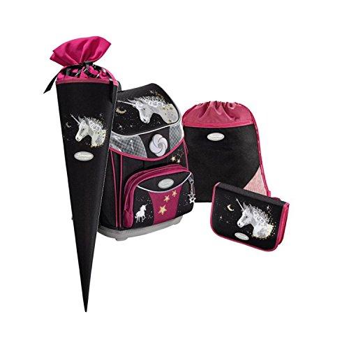 Sammies Premium Plus - Schulranzen Set 3 tlg. + kostenlose Schultüte - Unicorn Dream