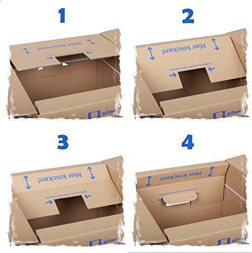 10 Stück Bücherkartons Profi Qualität - 3