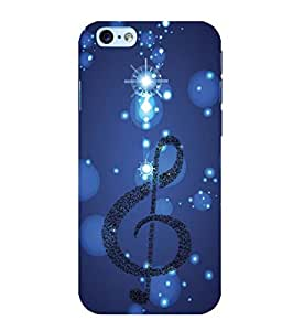 YuBingo Apple iPhone 6 Designer Phone Back Case Cover ( Musical Note )