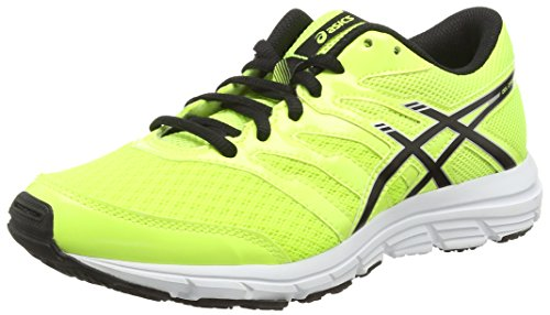 ASICS Gel-Zaraca 4 Gs, Scarpe Unisex Da Corsa, Colore Giallo (Flash Yellow/Black/Silver 0790), Taglia 36 EU (3 UK)
