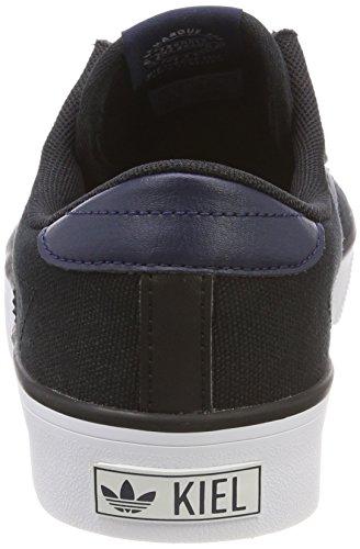 adidas Herren Kiel Skateboardschuhe Schwarz (Core Black/collegiate Navy/footwear White 0)