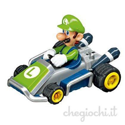 Mario Kart 8Pull und Speed 1: 43Maßstab Kart Racer NINTENDO WII (Luigi)