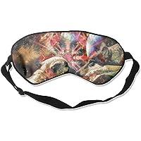 Sleep Eye Mask Puppy Space Lightweight Soft Blindfold Adjustable Head Strap Eyeshade Travel Eyepatch E3 preisvergleich bei billige-tabletten.eu