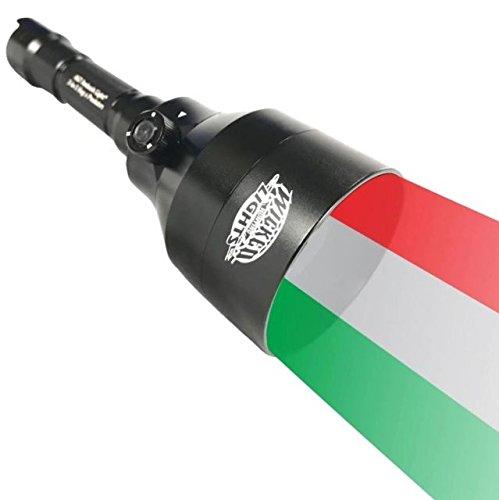 (Unbekannt Wicked Lichter a67ic Ambush 3-Color-in-1(grün, rot, weiß LED) Night Jagd Scan Plus Light Kit mit Intensität Control für Coyote, Predator, raubzeug & Borstenpinseln)