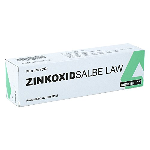 Zinkoxid Salbe Law 100 g