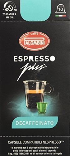 Caffè Palombini Decaffeinato Compatibile Nespresso - 20 confezioni da 10 capsule
