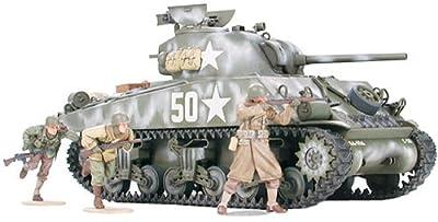 Tamiya 300035250 - 1:35 WWII US Sherman M4A3 Spä, 75 mm (9) von Tamiya