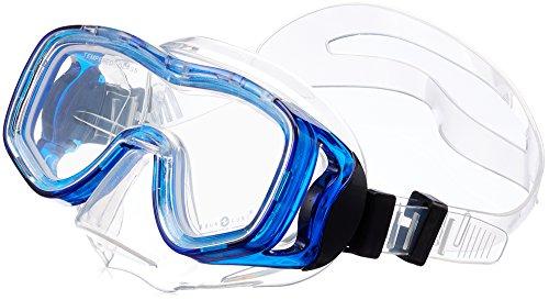 Aqua Lung Jungen Ibiza Junior Tauchmaske, Transparent, 1