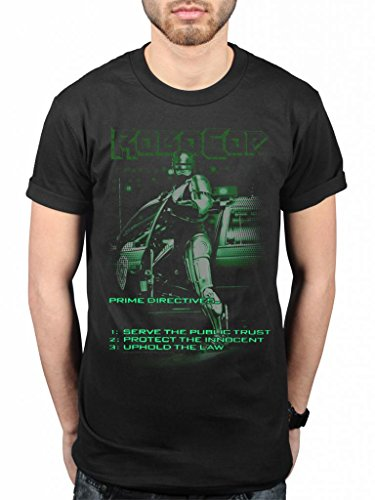 Official Robocop Uphold The Law T-Shirt