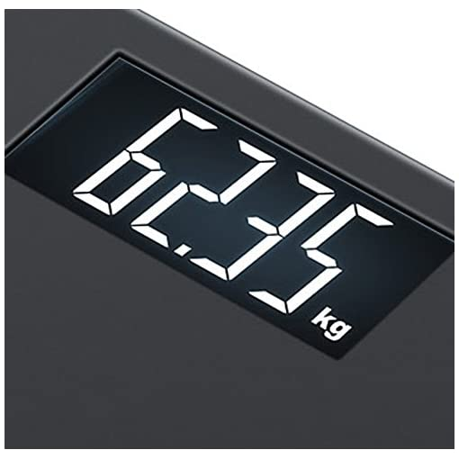 Dettagli su Beurer Bilancia Pesapersone Digitale Elettronica Peso Max 180kg PS240 SOFT GRIP
