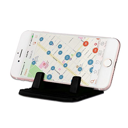 Hunpta Auto Silikon Dash Pad Mat Anti-Rutsch-Telefon Halterung Desktop Halter für SmartPhones (Schwarz) Band Windows Mobile-telefon