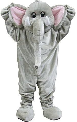 Riesiger Zirkus Elefant Maskottchen Halloween Verkleidung Karneval Tier Kostüm (Music Man Film Kostüme)