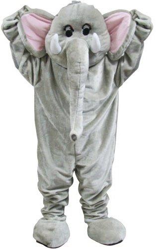 Riesiger Zirkus Elefant Maskottchen Halloween Verkleidung Karneval Tier (World Ideen Kostüme Fancy Dress Book Day)